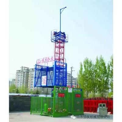 SS100/100型货用施工升降机|物料提升机